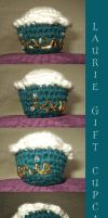 Laurie Gift Cupcake Pincushion by anijess3
