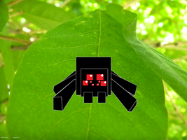 8-bit critters: Spider by Rthecreator