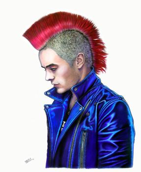 Jared Leto by Taurina