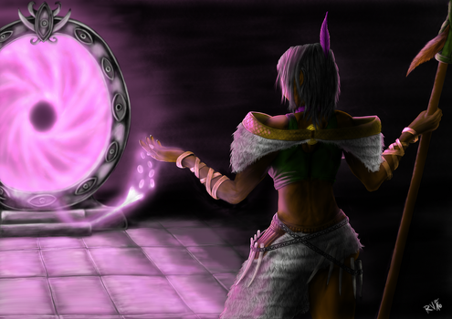 Navali - Path of Exile by Eandril