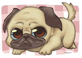 Little Pug by Wotsit123