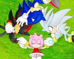Sonic and Hedgehogs Wallpaper by ihearrrtme