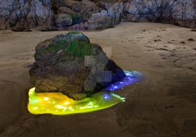 The Magic Rock-pool by OrbMeUp