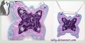 Second Butterfly Pendant by Talty