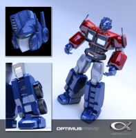Optimus Prime Revisited ver. 3 by shadowfork