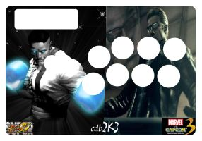 My Custom SE Fightstick Art by DaCommissioner