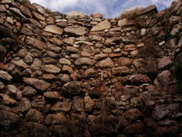Stone wall1 by Manwathiell-Stock
