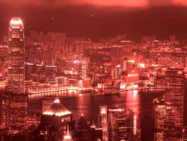 Hong Kong at night by Andy4U