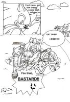 Inuyasha and Sonic comic pg 1 by jassgirl