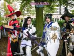 FFXIV ARR Group Cosplay 2 by hwaiting