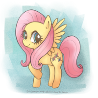 Fluttershy by Gingersnaap