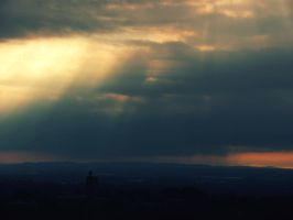as the light pierces through by Kostandina