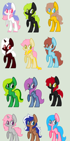 Mystery Adopts 3 .:Closed:. by Lightningwing1234
