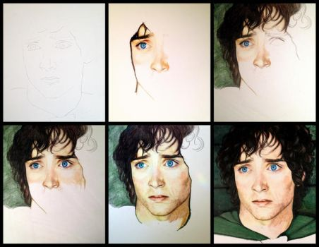 Frodo - In Progress 2016-2017 by JeanMarieArt