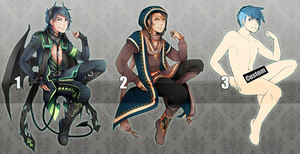 Adopts ::: Set 5 [Closed] by Saibraeus