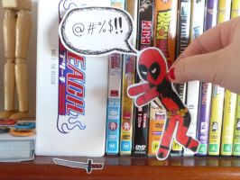 Deadpool Paper Child by Dark-ninja-angel