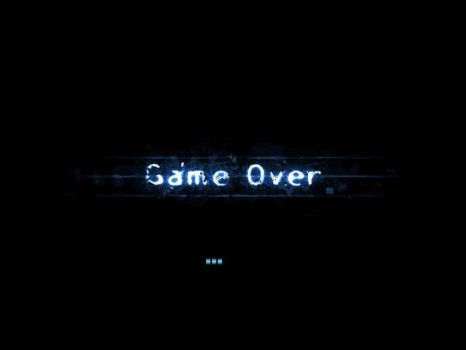 Game Over by siamsadman
