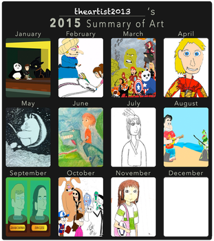 2015 Summary of Art by thearist2013