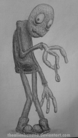Daily Sketch 10- Salad Fingers by TheAlienBanana