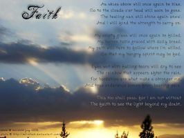 Faith Visual Poem by meljoy68