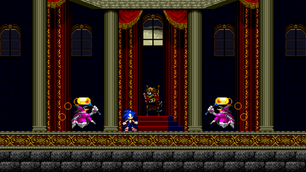 CastleVania Zone Mock-Up 7 - Asorted Mock-Up by MrLevRocks