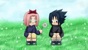 SasuSaku - Childlike Innocence by Wings-chan