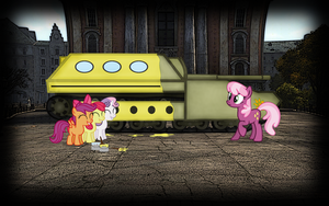 wallpaper: WOT/MLP crossover (screen 3) by crasydwarf