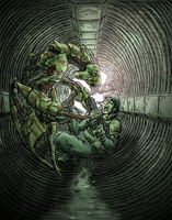 In the Sewers by Shabazik
