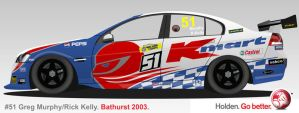 Kmart Racing Team 2003 on a VE by AndyJDesign