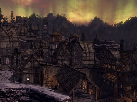 Port of Windstad by skyvalr