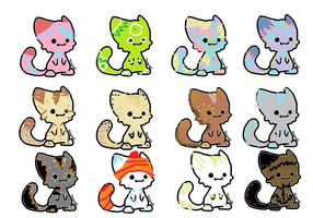 More Free Adopts ^^ by tumblle