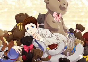 SPN-holy huggy bear by siruphial