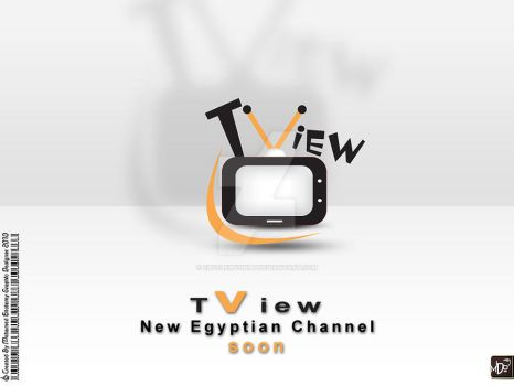 tv view logo by eltolemyonly