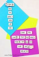 The Daily Magnet #131 by FridgePoetProject