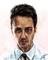 Fight Club: Edward Norton by Jaimus