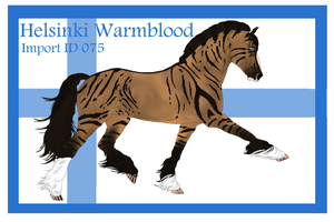 The Helsinki Warmblood Import ID 075# by LiaLithiumTM