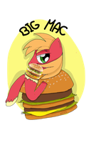 BIG MAC WITH A BIG MAC WEARING A BIG MAC SUIT. by MissPolycysticOvary