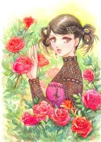 Roses. by Maria-Sandary