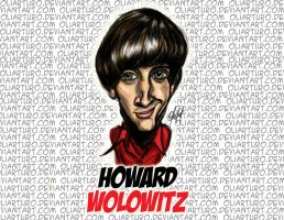 Howard Wolowitz - The Big Bang Theory by Oliarturo