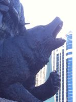 The Bear of the Monument by MiniBeast09876