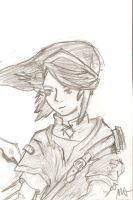 Link Drawing by SpencerMel