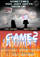 Game Grumps 2 Electric Boop-Aloo - Movie poster by KristianTheTiragon