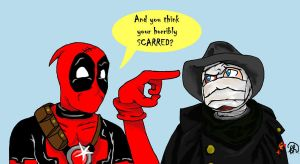 Deadpool meets Darkman by Shamrock001