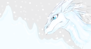 IceWing by Silver-Storm-Dragon