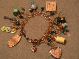 TinkerBell Bracelet commission by alchemymeg