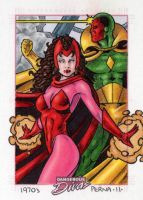 Scarlet Witch Dangerous Divas by tonyperna