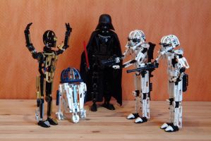 LEGO Technic STAR WARS: Droids we're looking for. by Kleiner-Yoda