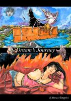 Dream's Journey - Yume in another hell and Kaila by Angela-Chiappini