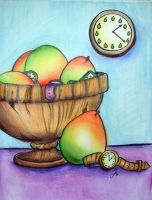 Still Life -- Mango Time by LuxeLibrarian