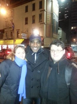 Meeting Norm Lewis by Ahzeya